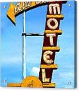 Ala Cozy Motel Acrylic Print