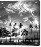 Ala Moana Beach Park Acrylic Print
