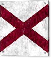 Alabama Flag Acrylic Print