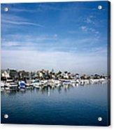 Alamito Bay Marina Acrylic Print