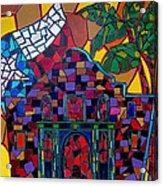 Alamo Mosaic Acrylic Print
