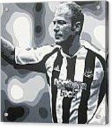 Alan Shearer - Newcastle United Fc Acrylic Print