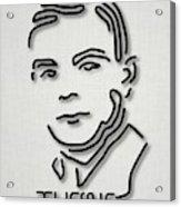 Alan Turing Acrylic Print