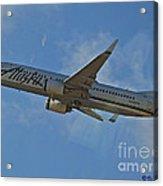 Alaska Air Up And Away Acrylic Print