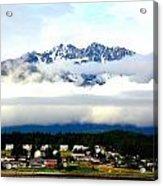 Alaska Coastal Village Acrylic Print