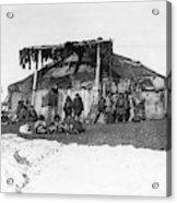 Alaska Eskimos, C1898 Acrylic Print
