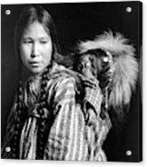 Alaska Eskimos, C1912 Acrylic Print