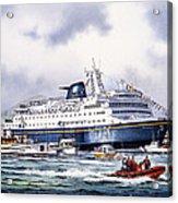 Alaska Ferry Acrylic Print