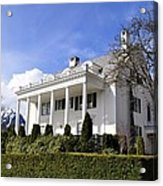 Alaska Governors Mansion Acrylic Print