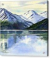 Alaska Mountain Reflections Acrylic Print
