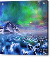 Alaska Northern Lights  Acrylic Print