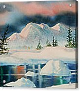 Alaska Panorama Acrylic Print