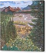 Alaska Range   Early Fall Acrylic Print