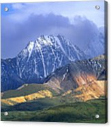 Alaska Range And Foothills Denali Acrylic Print