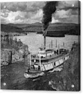 Alaska Steamboat, 1920 Acrylic Print