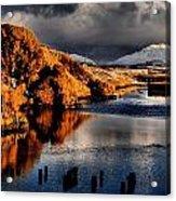 Alaska Sunset Acrylic Print