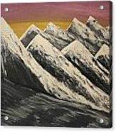 Alaskan Beauty Acrylic Print