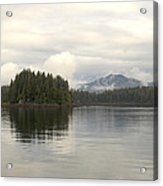 Alaskan Island Reflection Acrylic Print