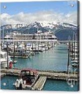 Alaskan Marina Acrylic Print