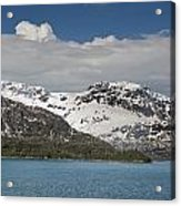 Alaskan Snow Covered Mountian Acrylic Print