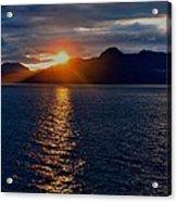 Alaskan Sunset Acrylic Print
