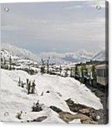 Alaskan Trainride Acrylic Print