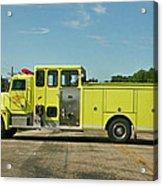 Albany Community Volunteer Fire Dept.  702 Acrylic Print