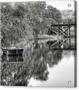 Albergottie Creek Trestle Acrylic Print