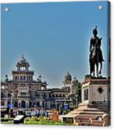 Albert Hall - Jaipur India Acrylic Print