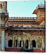 Albert Hall 2 - Jaipur India Acrylic Print