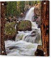 Alberta Falls II Acrylic Print