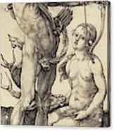 Albrecht Dürer German, 1471 - 1528, Apollo And Diana Acrylic Print