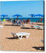 Albufeira Beach Acrylic Print