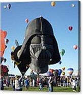 Albuquerque International Balloon Fiesta With Darth Acrylic Print