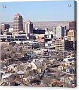 Albuquerque Skyline Acrylic Print