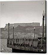Alcatraz-the Rock Acrylic Print