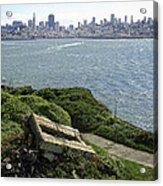 Alcatraz And San Francisco Acrylic Print