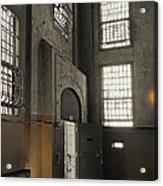 Alcatraz Doorway To Freedom Acrylic Print by Daniel Hagerman