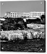 Alcatraz Federal Prison Acrylic Print by Benjamin Yeager
