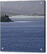 Alcatraz Island And Richardson Bay Acrylic Print
