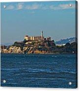 Alcatraz Island In San Francisco Bay Acrylic Print
