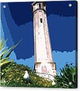 Alcatraz Lighthouse Acrylic Print