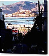 Alcatraz - So Close Yet So Far Acrylic Print