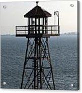 Alcatraz Watch Tower Acrylic Print
