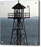 Alcatraz Watchtower Acrylic Print