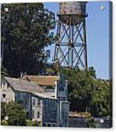 Alcatraz Water Tower Acrylic Print by John McGraw