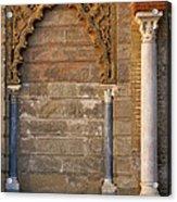 Alcazar Columns In Spain Acrylic Print