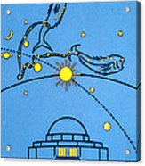 Alder Planetarium Acrylic Print by Jennifer Rondinelli Reilly - Fine Art Photography