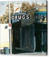 Alderman Drugs Acrylic Print
