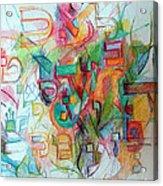 Alef Bais 12 Acrylic Print